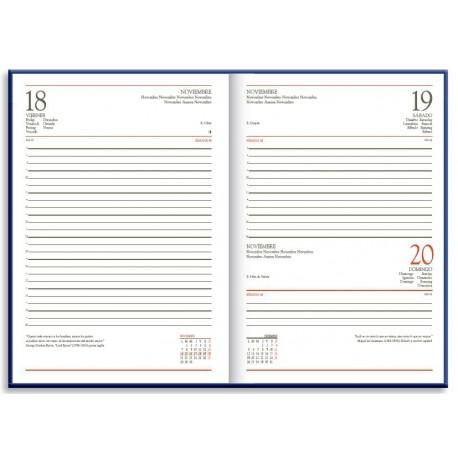 Ref. IN-01 / Medidas: 15 x 21 cms. / Día página